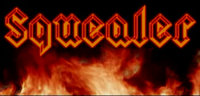 Squealer Logog with flames